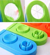 Load image into Gallery viewer, 2063 Multi-Segment 2 in 1 Egg Cutter/Slicer