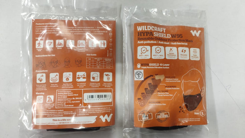 Wildcraft HypaShield 6-Layer Mask