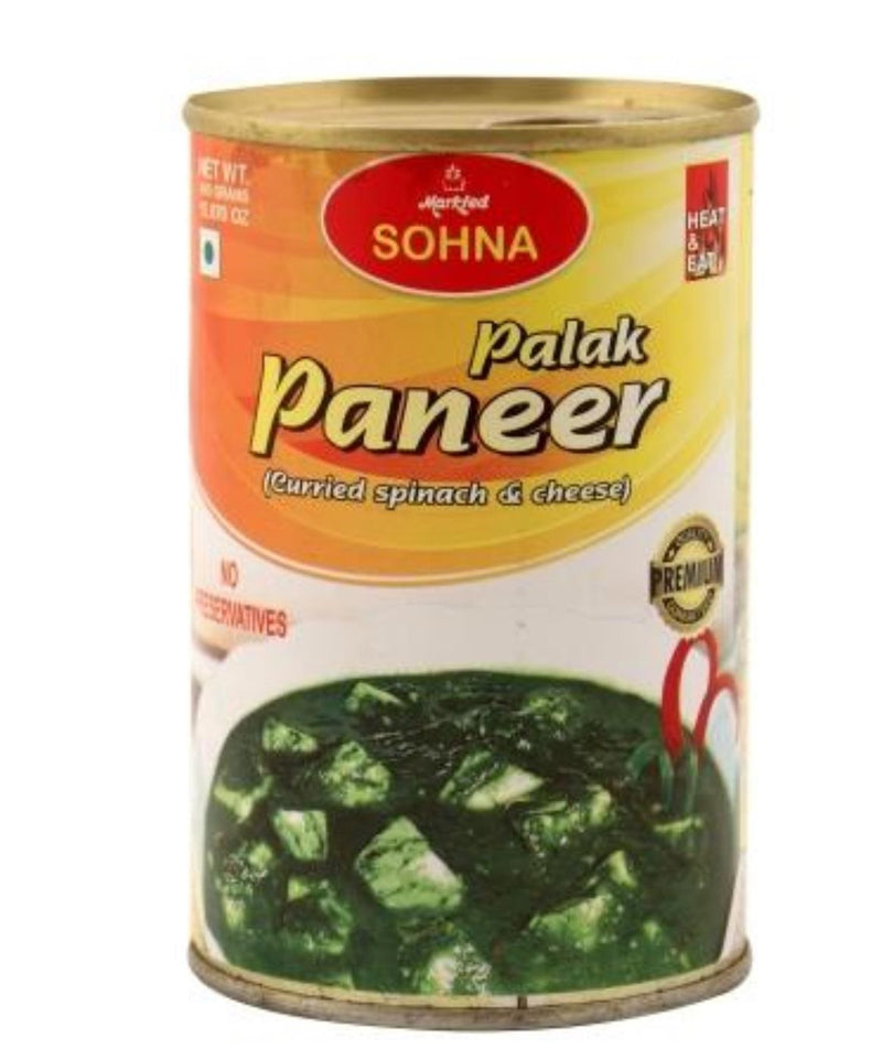 Sohna Palak Paneer (Spinach & Cheese Curd)-(450gm)