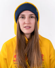 Laden Sie das Bild in den Galerie-Viewer, Beanie mit Dino-Patch Blau