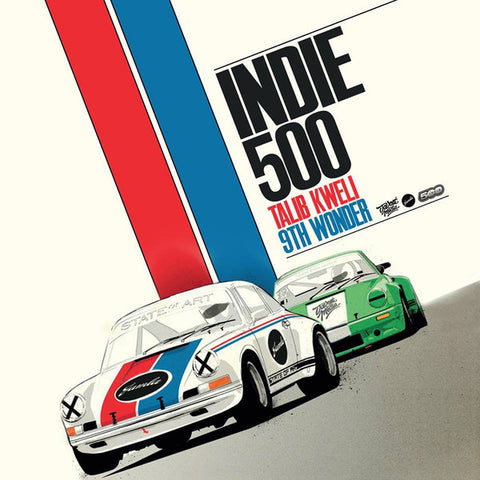 Talib Kweli & 9th Wonder presents:  Indie500 (CD)