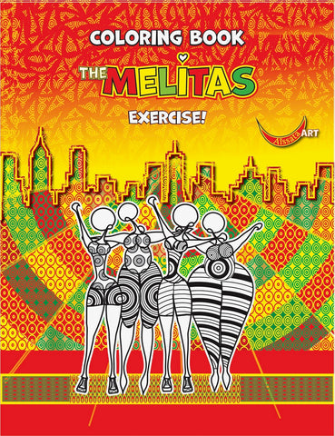 "Aissata Pinto De Costa - ""The Melitas"" Coloring Book"