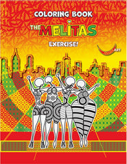 "Aissata Pinto da Costa - ""The Melitas"" Coloring Book"