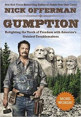 Nick Offerman - Gumption: Relighting the Torch of Freedom with America's Gutsiest Troublemakers