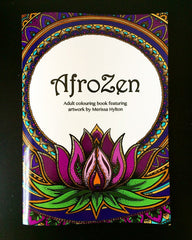 Merissa Hylton - AfroZen Colouring Book