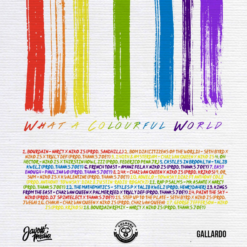 Colours Of The Culture - Roy G. Biv: What A Colourful World ...