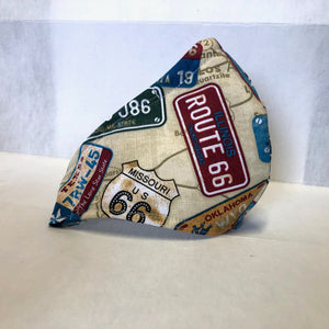 Cloth Face Mask - Route 66