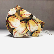 Load image into Gallery viewer, Cloth Face Mask - Baseball - Adult Regular