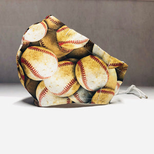 Cloth Face Mask - Baseball - Adult Regular