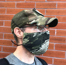 Load image into Gallery viewer, Cloth Face Mask - Atacs Camo - Adult Regular