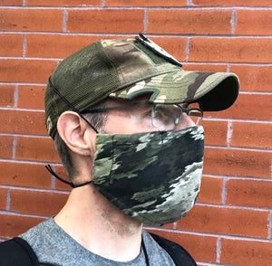 Cloth Face Mask - Atacs Camo - Adult Regular