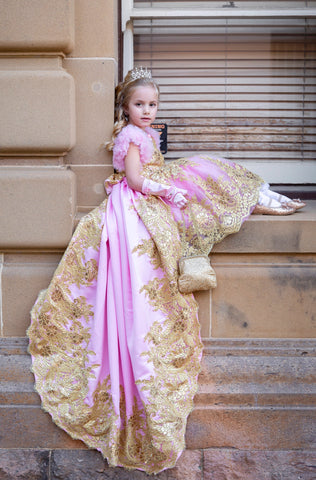 Kayley Couture - Princess in Pink and Gold