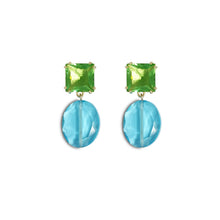 Load image into Gallery viewer, Gem Drop Earrings - Bahama