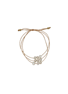 Pearl Trio Adjustable Bracelet