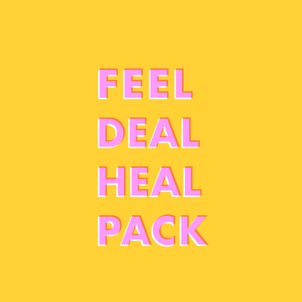 FEEL DEAL HEAL Packs