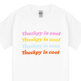 Therapy Is Cool T-Shirt | Colorful