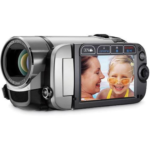 Canon FS200 Flash Memory Camcorder (Misty Silver) - worldtradesolution.com  - 1