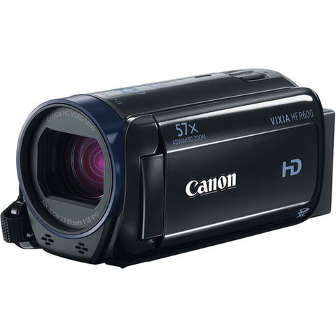 Canon VIXIA HF R600 Full HD Camcorder Kit - Black 1080 57x Optical Zoom 3.28MP - worldtradesolution.com  - 1