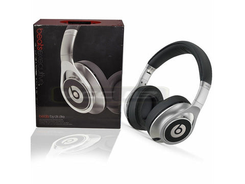 Beats by Dr. Dre - Executive Over-the-Ear Headphones - Silver - 810-00050 - worldtradesolution.com  - 1