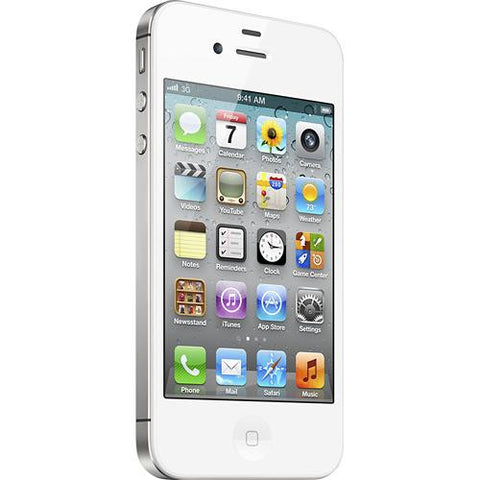 Apple iPhone 4S MD378LL/A 16GB Sprint White iOS 6.1.3 Brand New Opened Boxed - worldtradesolution.com