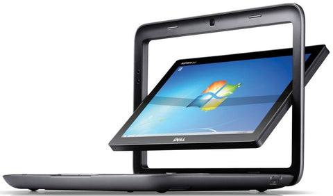 "Dell Inspiron Duo Convertible Tablet Intel Dual Core 1.5GHz 10.1"" Multi-touch Screen WebCam 2GB RAM 320GB HD Windows 7 Home Premium - worldtradesolution.com  - 1"