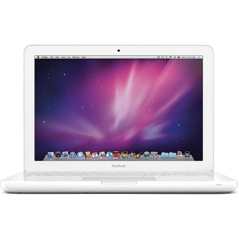 Apple MacBook MC516LL/A 13.3-Inch Intel Core 2 Duo 2.40Ghz 2GB 250GB DVDRW Bluetooth White Mac OS X 10.6 Snow Leopard - worldtradesolution.com  - 1