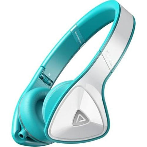 Monster - DNA On-Ear Headphones - White/Teal - 128468-00 - worldtradesolution.com  - 1