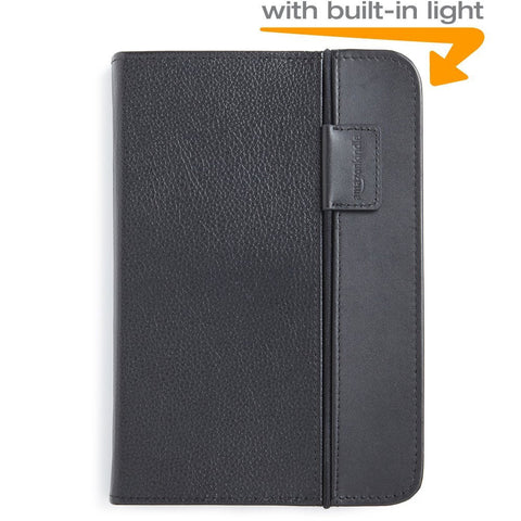 Amazon Kindle Lighted Leather Cover, Black (Fits Kindle Keyboard) - Grade B W/User Guide - worldtradesolution.com  - 1