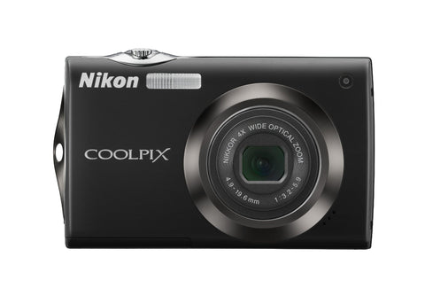Nikon Coolpix S4000 12 MP Digital Camera with 4x Optical Vibration Reduction (VR) Zoom and 3.0-Inch Touch-Panel LCD (Black) - worldtradesolution.com  - 1
