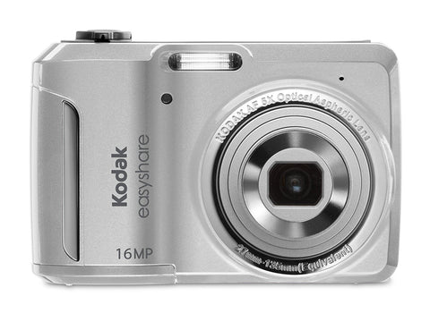 Kodak EasyShare C1550 16 MP Digital Camera with 5x Optical Zoom (White) - worldtradesolution.com  - 1