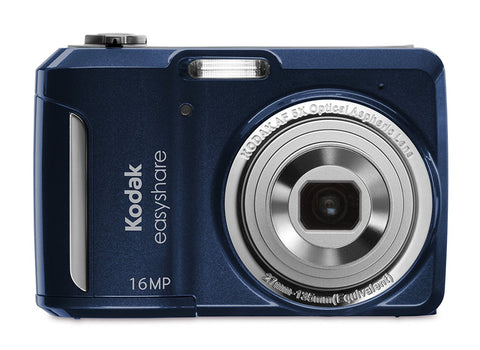 Kodak EasyShare C1550-2575 16 MP Digital Camera with 5x Optical Zoom (Blue) - worldtradesolution.com  - 1
