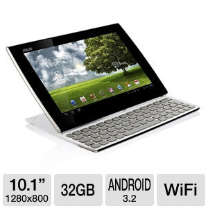 "Asus SL101-B1-WT - Eee Pad 32 GB Tablet - 10.1"" - NVIDIA Tegra 2 T250 1 GHz - White - worldtradesolution.com  - 1"