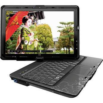 "HP TouchSmart TX2z-1020us Tablet PC 12.1"" 2.20GHz AMD Turion X2 4GB 320GB WXGA DVDRW Windows Vista HP - worldtradesolution.com  - 1"