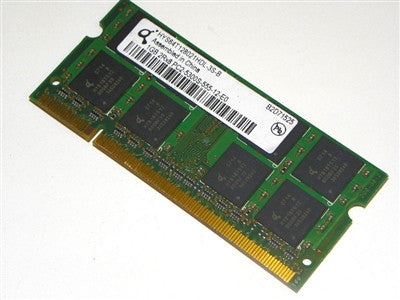 Infineon 1GB DDR2 PC5300S-555-12-E0 Laptop Memory HYS64T128021HDL-3S-B - Non-ECC - worldtradesolution.com