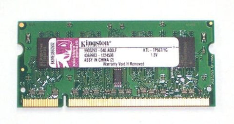 Kingston 1GB DDR2 KTL-TP667/1G SODIMM 200 Pin Laptop Memory - Non-ECC - worldtradesolution.com