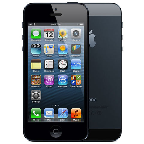 "Apple iPhone 5S Retina 4"" ME305LL/A 16GB AT&T GSM Unlocked Space Gray - Grade B+ - worldtradesolution.com  - 1"