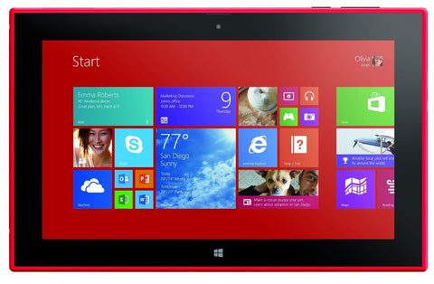 Nokia Lumia 2520 Tablet Red 32GB Verizon (Refurbished) Unlocked - worldtradesolution.com  - 1