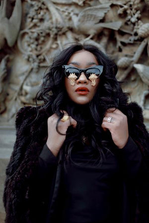 Clermont Twins Nroda Bejeweled Sunglasses