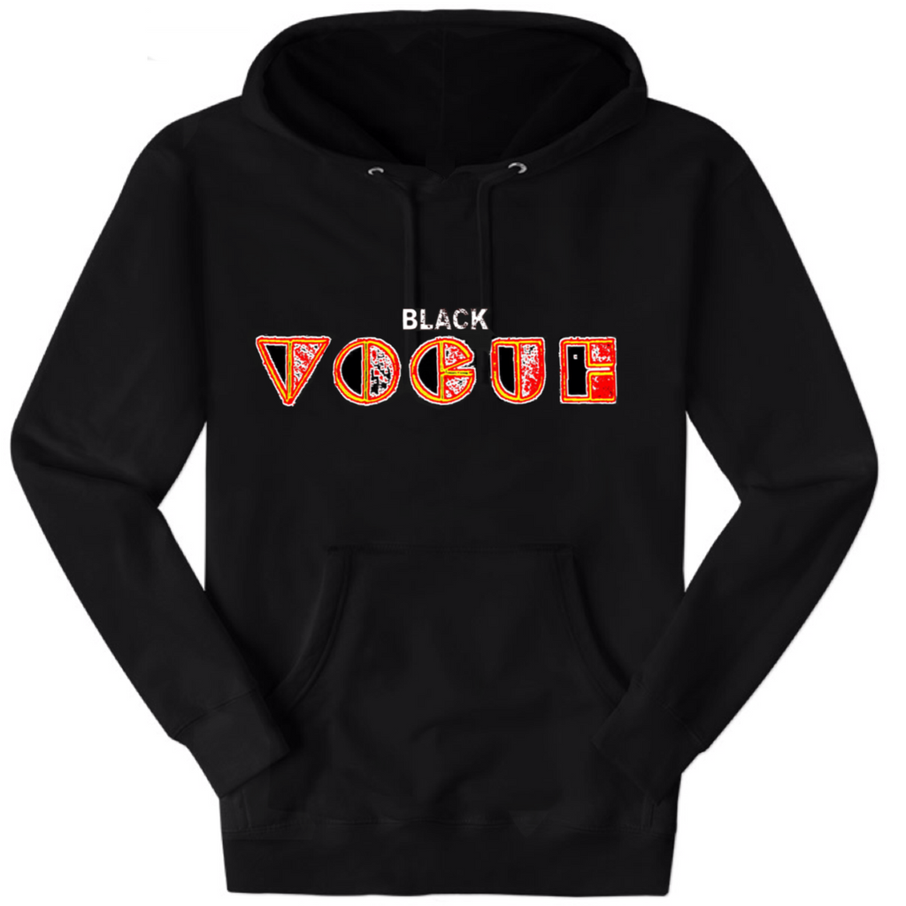 Black Friday Fashion Week Sweatshirt (Black and Orange)