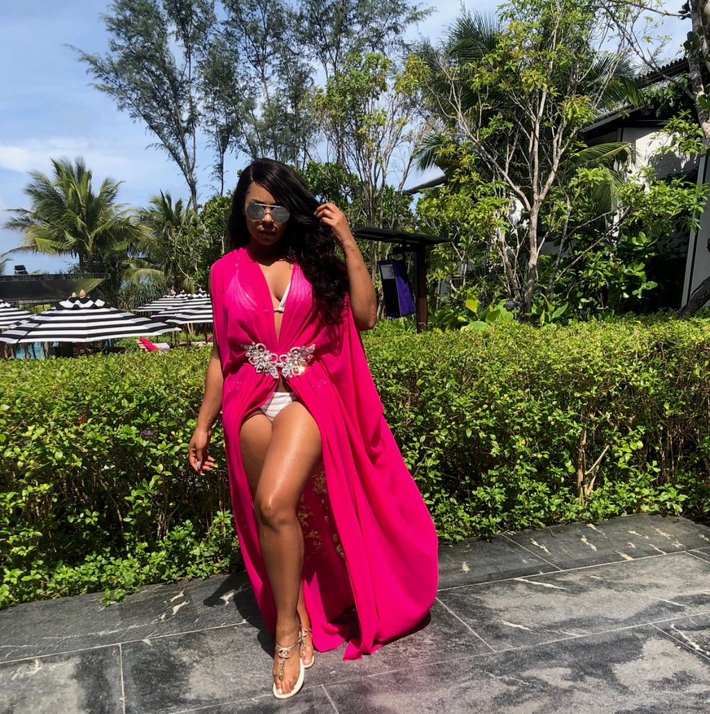 Kaftans by Ela As Worn by Ashanti