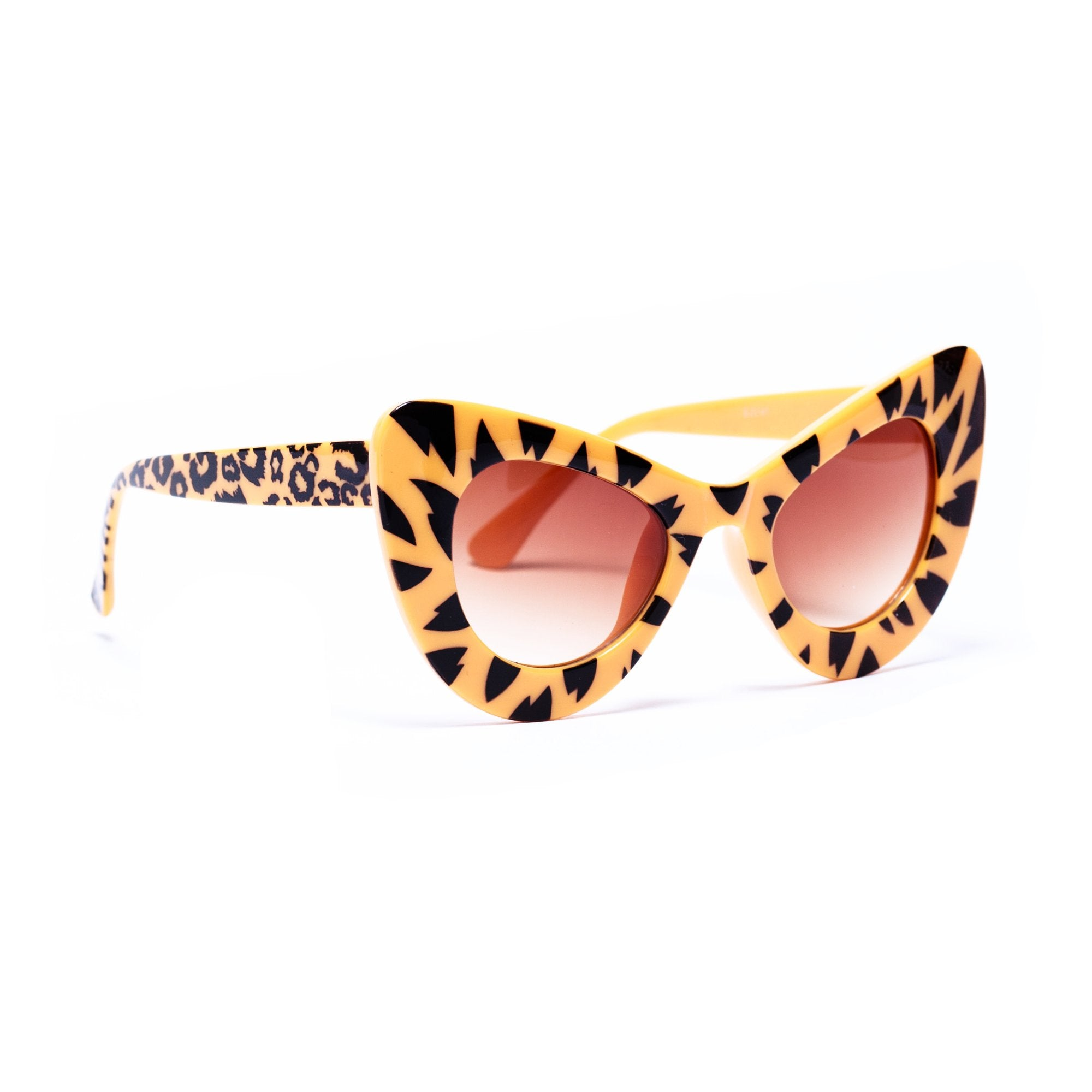 Nroda Cheetah Glasses
