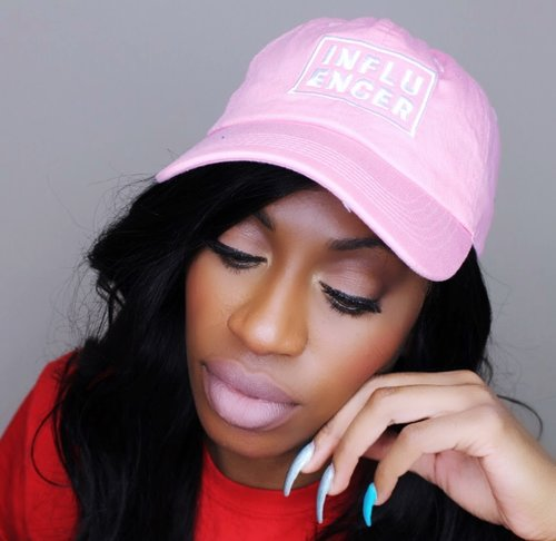 GLEEmade Pink Influencer Hat