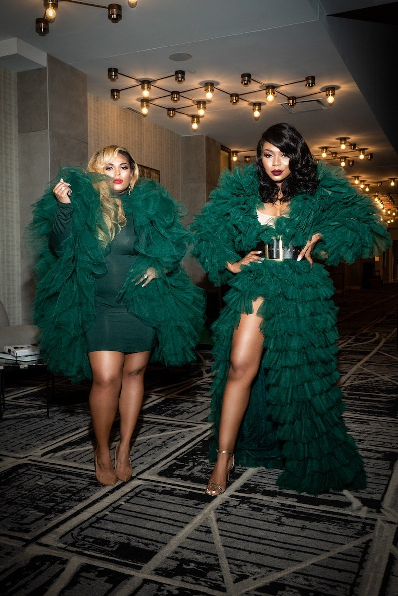 Oyemwen Green Tulle Jacket