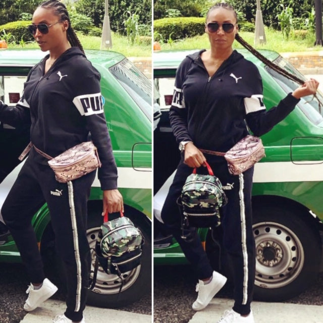 CB Vior Camo 50 Cynt Mini Backpack as Worn by Cynthia Bailey