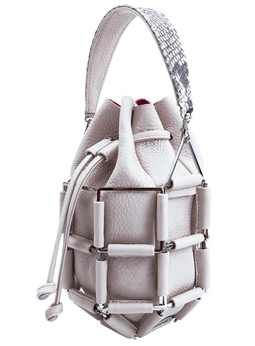 BruceGlen Grenade Bag in Cement
