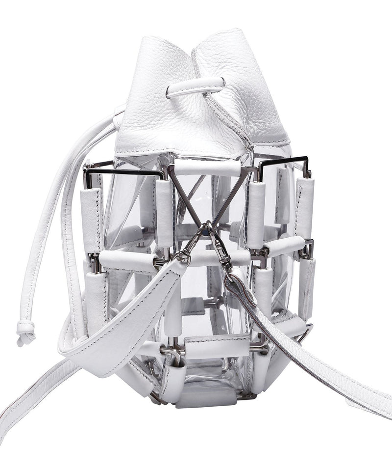 BruceGlen Grenade Bag in White Hot