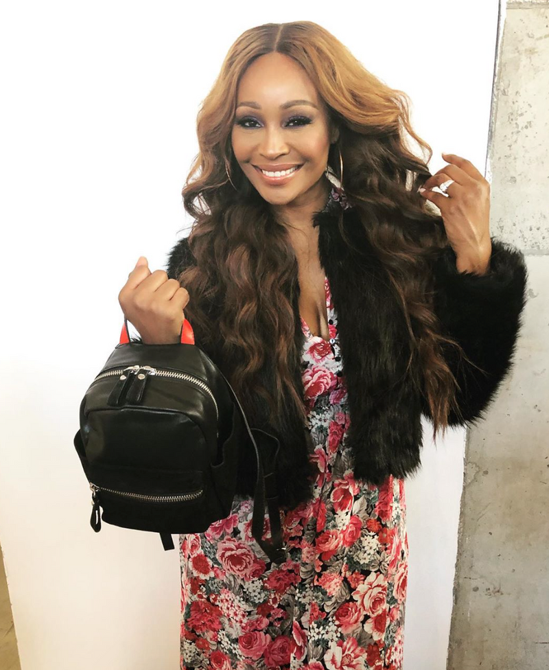 CB Vior Maverick Mini Leather Backpack as Worn by Cynthia Bailey