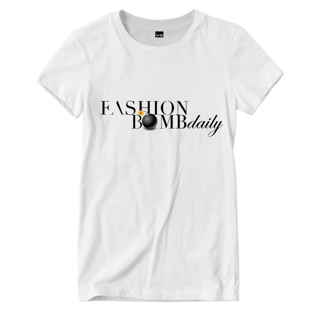Unisex Fashion Bomb Daily Logo T-Shirt  (Up to Size 5X)