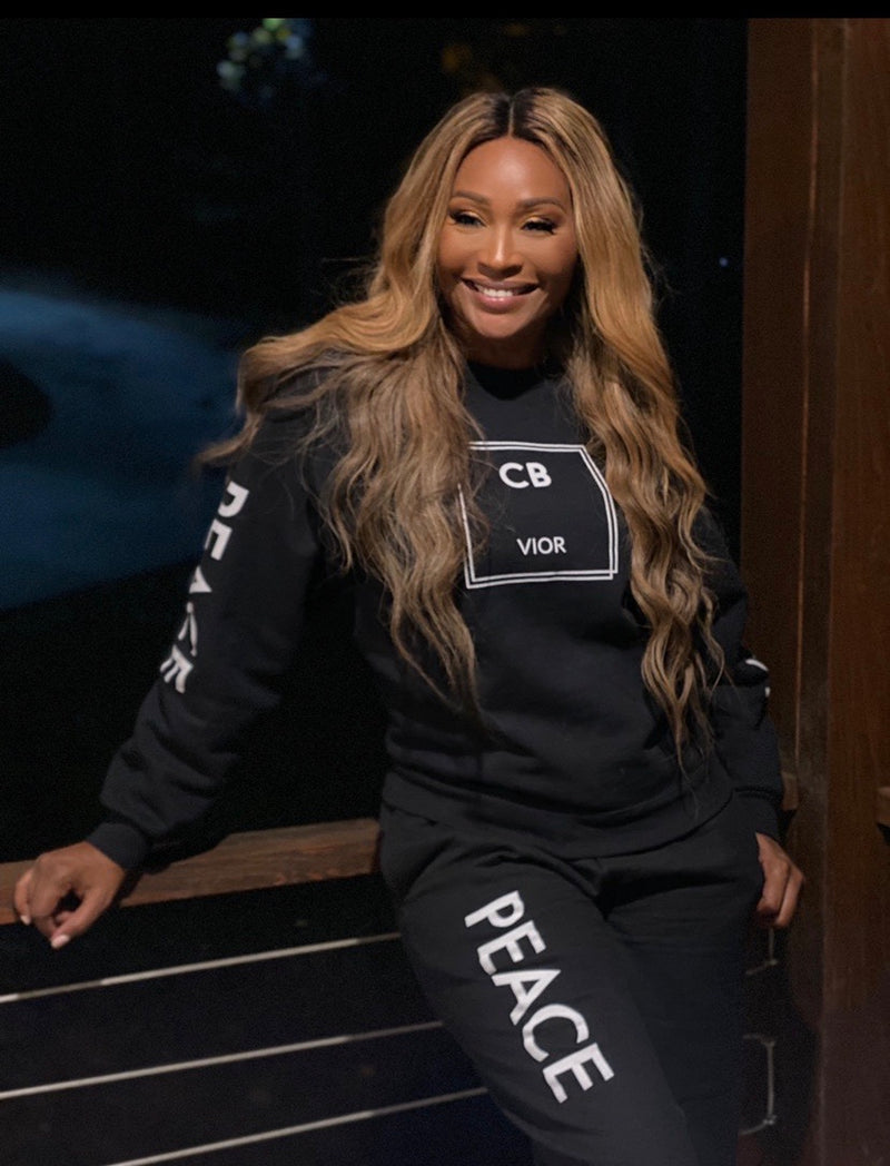 CB Vior Peace Black Sweatsuit