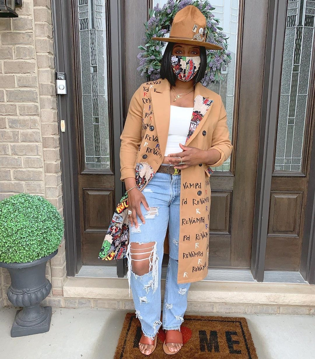 Distressed Claire Jeans as worn by Yandy Smith, Fantasia, and more!